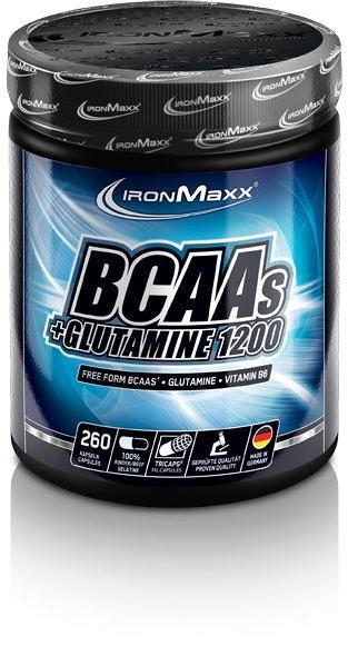IronMaxx BCAAs + Glutamin 1200, 260 Tricaps