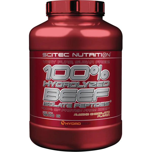 Scitec Nutrition 100 % Hydrolyzed Beef Isolate Peptides, 1800 g Dose
