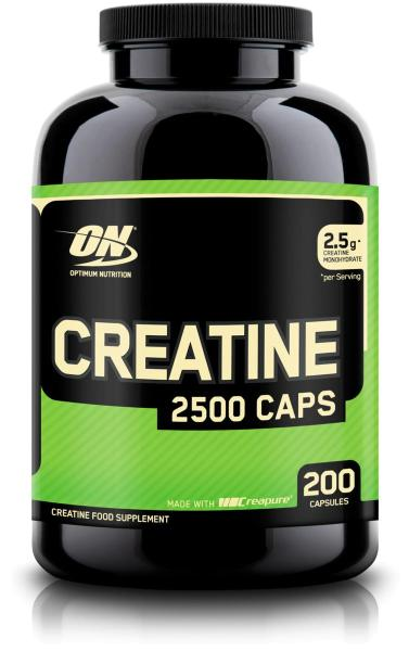 Optimum Nutrition Creatine 2500, 200 Kapseln Dose