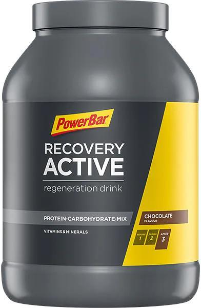 PowerBar Recovery Active Drink, 1210 g Dose, Chocolate