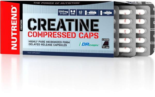 Nutrend Creatine Compressed Caps, 120 Kapseln