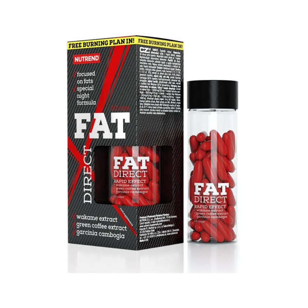 Nutrend Fat Direct, 60 Kapseln Dose