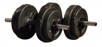 Iron Gym 15 Kg Adjustable Dumbbell Set (Kurzhantelset)