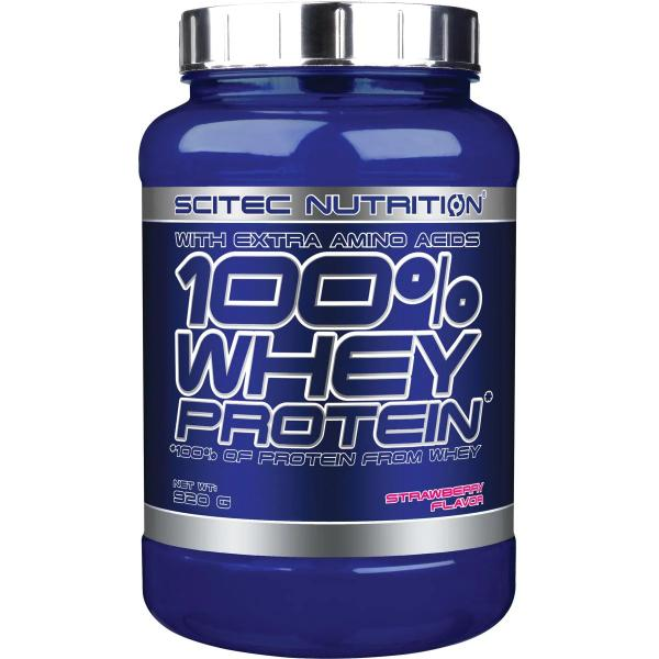 Scitec Nutrition 100% Whey Protein, 920 g Dose