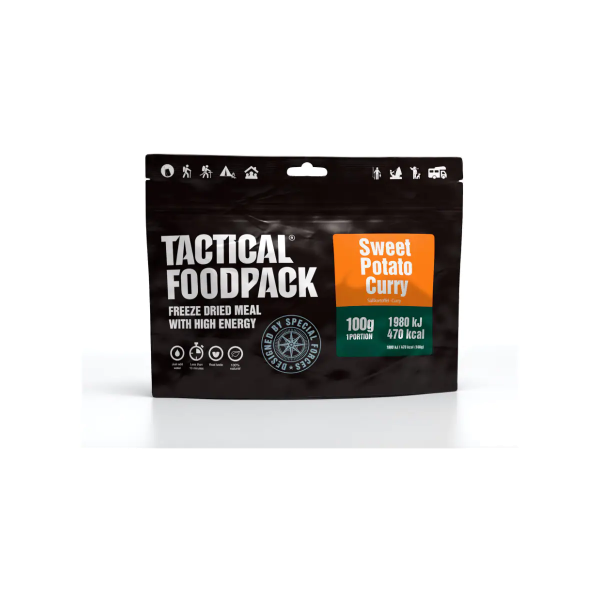 Tactical Foodpack Sweet Potato Curry, 100 g Beutel