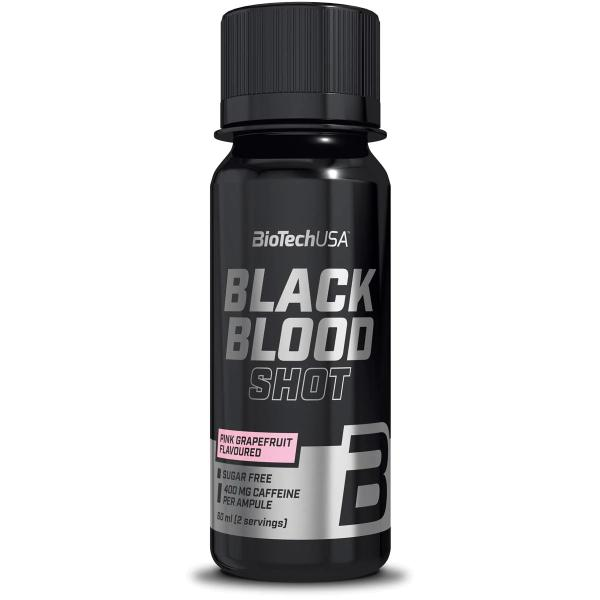 BioTech USA Black Blood Shot, 20 x 60 ml Ampullen, Pink Grapefruit