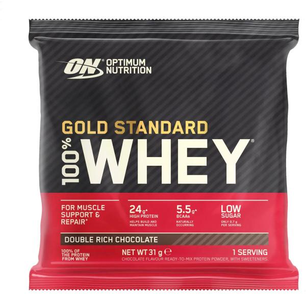 Optimum Nutrition 100 % Whey Gold Standard, 24 x 30 / 31 / 32 g Sachet