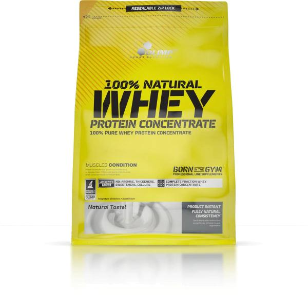 Olimp 100% Natural Whey Protein Concentrate, 700 g Beutel, Neutral