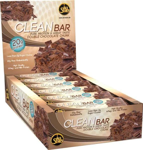 All Stars Clean Bar, 18 x 60 g Riegel