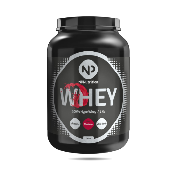NP Nutrition 100% Hype Whey, 1000g Dose