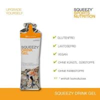 Squeezy Drink Gel Box, 12 x 60 ml Beutel