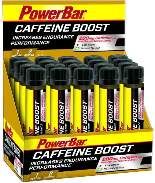 PowerBar Caffeine Boost Ampullen, 20 x 25 ml Ampullen, Neutral