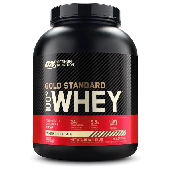 Optimum Nutrition 100 % Whey Gold Standard, 5 lb Dose