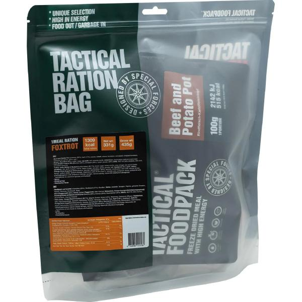 Tactical Foodpack 1 Meal Ration FOXTROT, 331 g Beutel