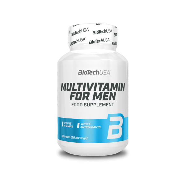 BioTech USA Multivitamin for Men, 60 Tabletten Dose