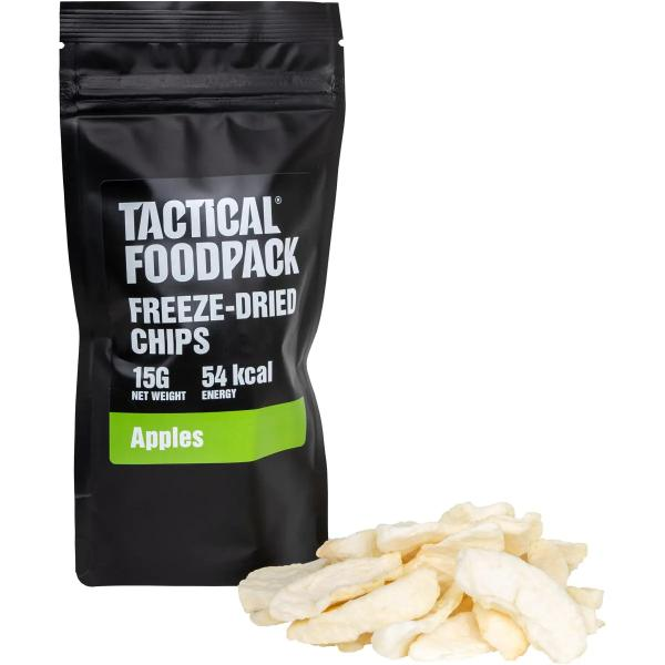 Tactical Foodpack Freeze-Dried Apple Chips, 15 g Beutel