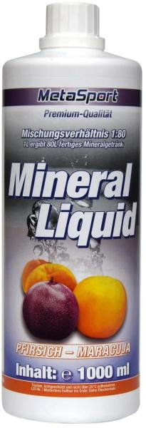 MetaSport Mineral Liquid+L-Carnitin+Magnesium,1:80, 1000 ml Flasche