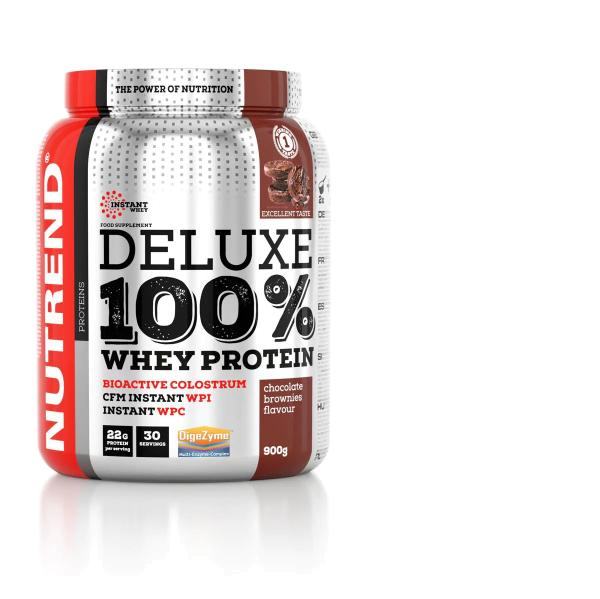Nutrend Deluxe 100% Whey, 900 g Dose