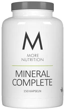 More Nutrition Mineral Complete, 150 Kapseln