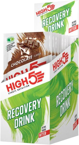 High5 Recovery Drink, 9 x 60 g Beutel, Chocolate