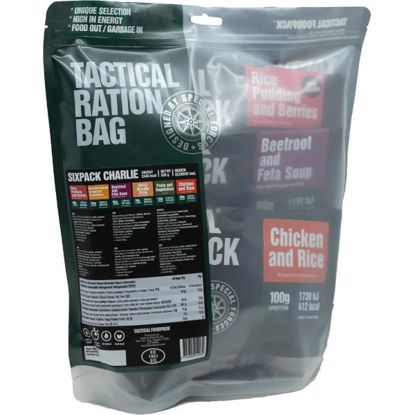 Tactical Foodpack Tactical Sixpack Charlie, 530 g Beutel