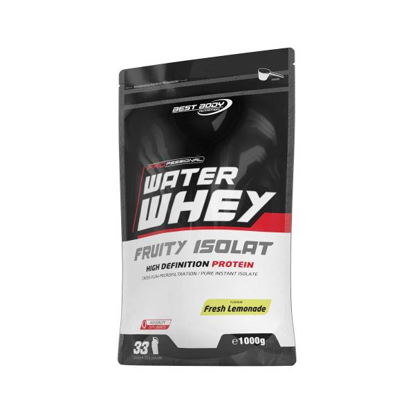 Best Body Nutrition Professional Water Whey Fruity Isolat, 1000 g Beutel