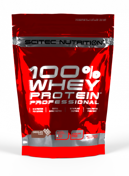 Scitec Nutrition 100% Whey Protein Professional, 500 g Beutel