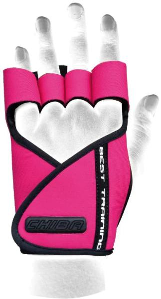 Chiba Lady Motivation Glove, Pink/Schwarz