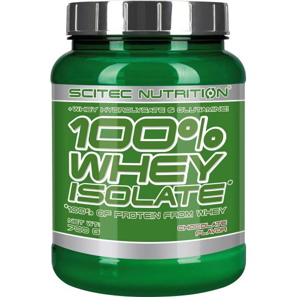 Scitec Nutrition 100% Whey Isolate, 700 g Dose