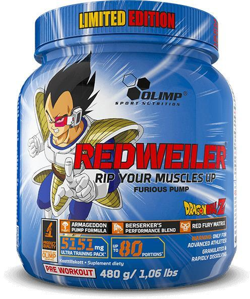 Olimp Redweiler Dragon Ball Z, 480g Dose