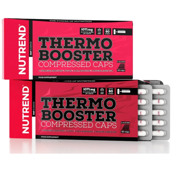 Nutrend Thermobooster Compressed Caps, 60 Kapseln