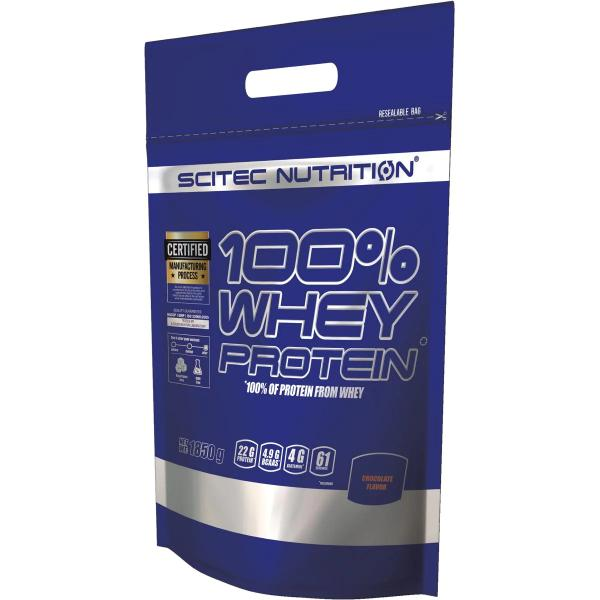 Scitec Nutrition 100% Whey Protein, 1850 g Beutel