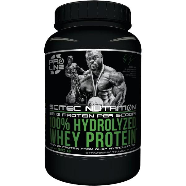 Scitec Nutrition 100 % Hydrolyzed Whey Protein, 910 g Dose