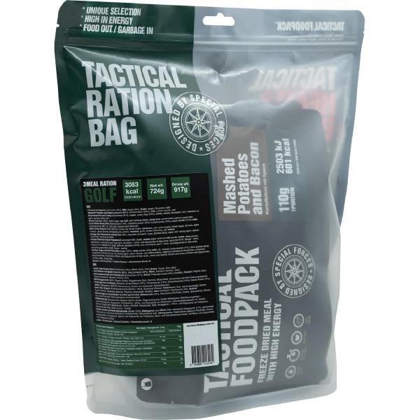 Tactical Foodpack 3 Meal Ration GOLF, 724 g Beutel