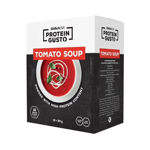 BioTech USA Protein Gusto Suppe, 10 x 30 g Beutel