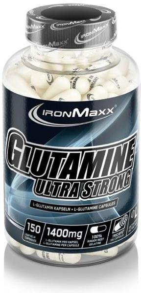 IronMaxx Glutamin Ultra Strong, 150 Tricaps