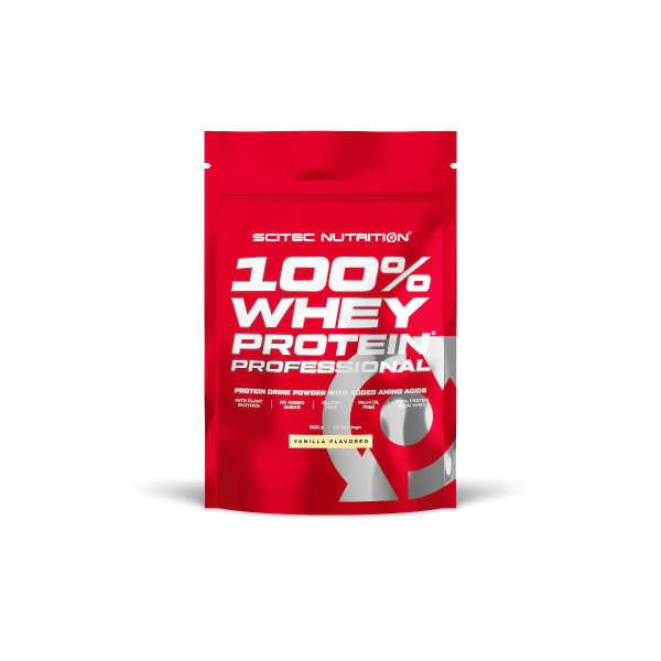 Scitec Nutrition 100% Whey Protein Professional Redesign, 500 g Beutel