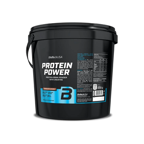 BioTech USA Protein Power, 4000 g Eimer