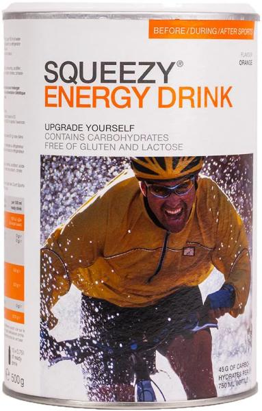 Squeezy Energy Drink, 500 g Dose