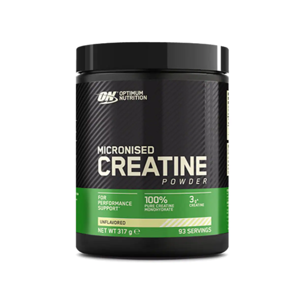 Optimum Nutrition Micronised Creatine Powder, 317 g Dose, Unflavoured
