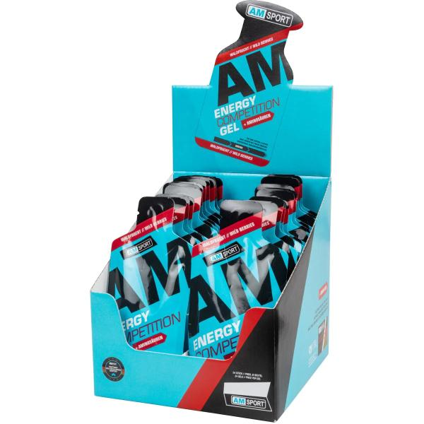 AMSPORT Energy Competition Gel, 24 x 45 g Beutel