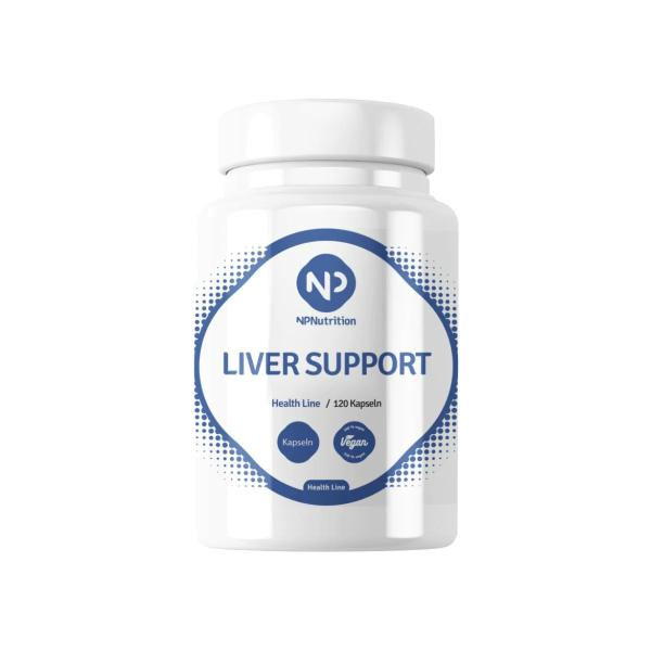 NP Nutrition Liver Support, 120 Kapseln