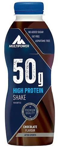 Multipower 50 g High Protein Shake, 12 x 500 ml Flaschen
