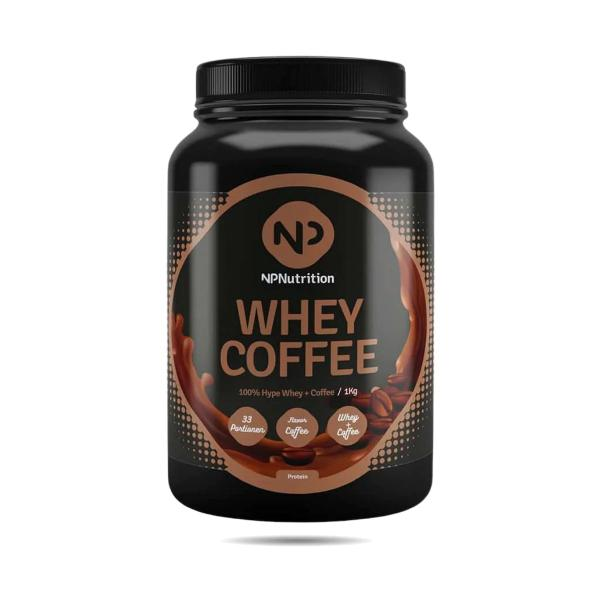 NP Nutrition Whey Coffee, 1000g Dose