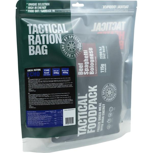 Tactical Foodpack 1 Meal Ration ECHO, 346 g Beutel