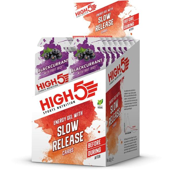 High5 Energy Gel with Slow Release Carbs, 14 x 62 g Beutel