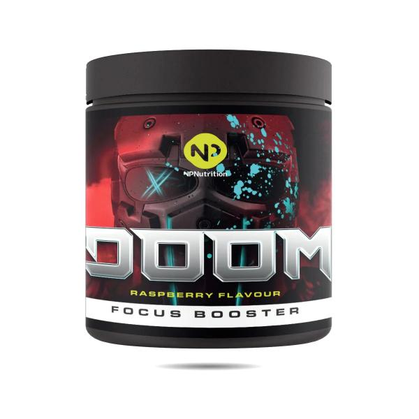NP Nutrition Doom Pre Workout Booster, 300g Dose