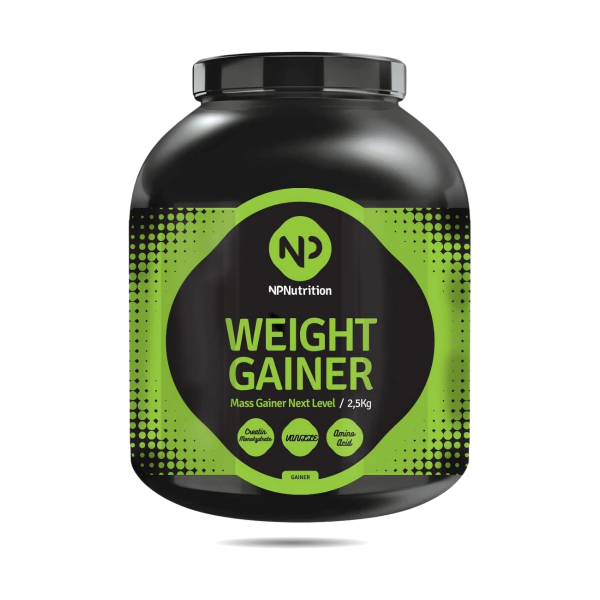 NP Nutrition Weight Gainer, 2500g Dose