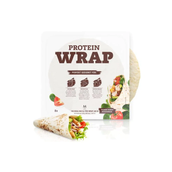 More Nutrition Protein Wrap, 8 x 40 g Wrap