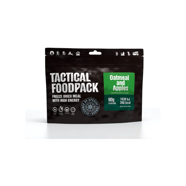 Tactical Foodpack Oatmeal and Apples, 90 g Beutel